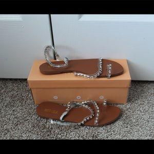 Shoes - Miss Lola Clear Sandal